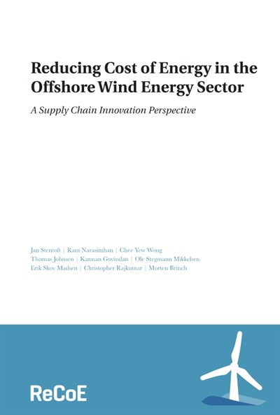 Reducing Cost of Energy in the Offshore Wind Energy Sector