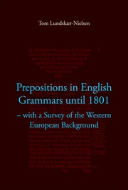 Prepositions in English Grammars until 1801