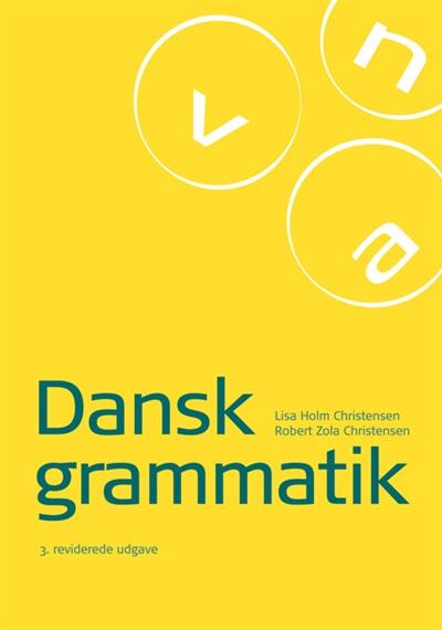 dansk grammatik bog